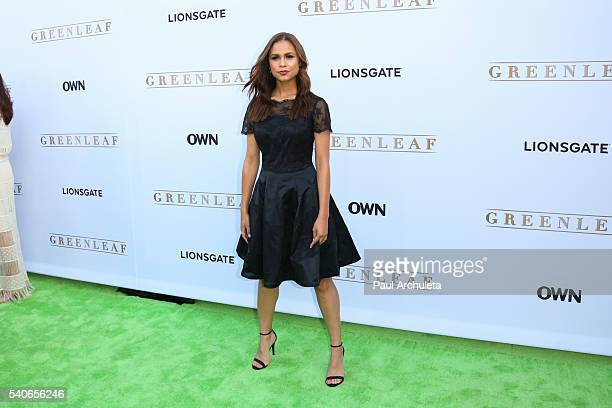 Actress Desiree Ross attends the premiere of OWN's Greenleaf at The Lot on June 15 2016 in West Hollywood California