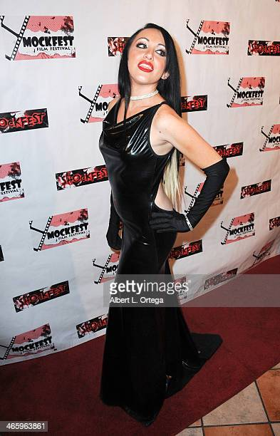 Actress DeVanny Pinn attends the ShockFest Film Festival Awards held at Raleigh Studios on January 11 2014 in Los Angeles California
