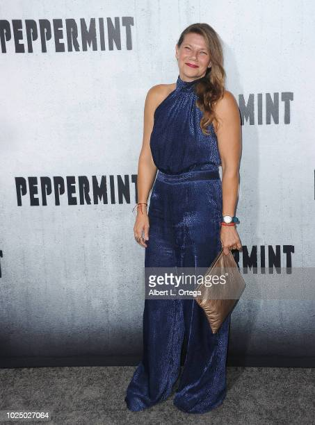 Actress Devin Digonno arrives for the Premiere Of STX Entertainment's Peppermint held at Stadium 14 on August 28 2018 in Los Angeles California