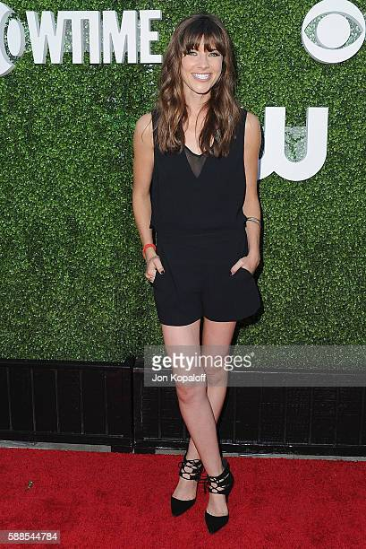 Actress Devin Kelley arrives at CBS CW Showtime Summer TCA Party at Pacific Design Center on August 10 2016 in West Hollywood California