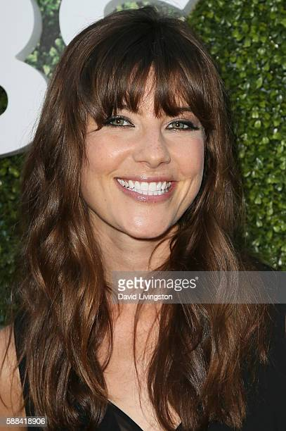 Actress Devin Kelley arrives at the CBS CW Showtime Summer TCA Party at the Pacific Design Center on August 10 2016 in West Hollywood California