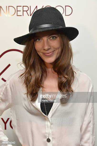 Actress Devin Kelley attends CALIA By Carrie Underwood Launch Event on March 10 2015 in West Hollywood California