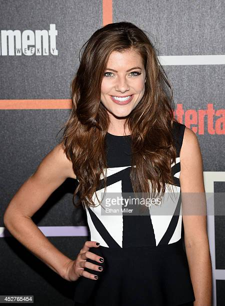 Actress Devin Kelley attends Entertainment Weekly's annual ComicCon celebration at Float at Hard Rock Hotel San Diego on July 26 2014 in San Diego...