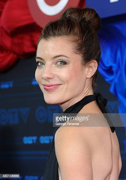 Actress Devin Kelley of Resurrection attends the CTV 2014 Upfront at Sony Centre for the Performing Arts on June 5 2014 in Toronto CanadaÊ