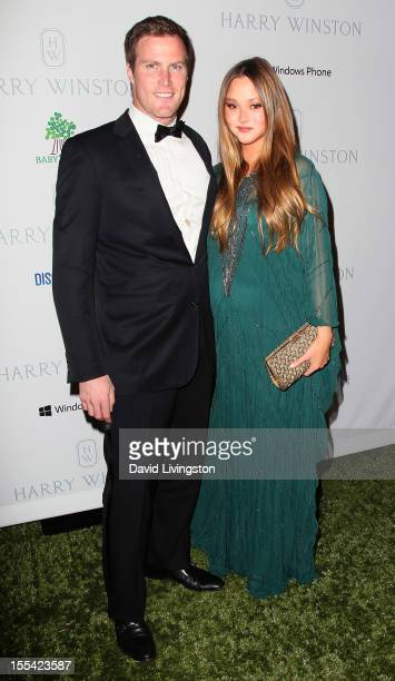Actress Devon Aoki and husband financier James Bailey attend the 1st Annual Baby2Baby Gala at The BookBindery on November 3 2012 in Culver City...
