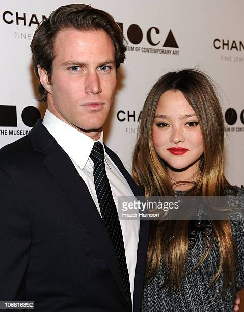 """Actress Devon Aoki and James Bailey arrive at """"The Artist's Museum Happening"""" MOCA Los Angeles Gala held at MOCA Grand Avenue on November 13, 2010 in..."""