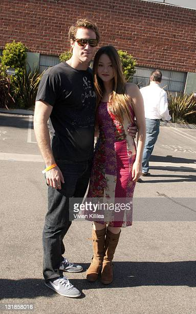 Actress Devon Aoki and James Bailey attend The 12th Annual Day Of The Child Event at Star Eco Station on November 14 2010 in Los Angeles California