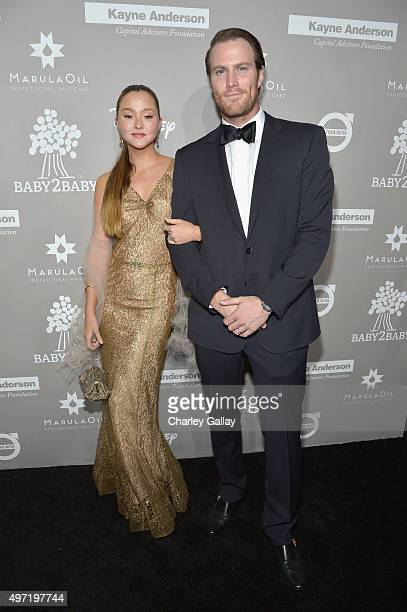 Actress Devon Aoki and James Bailey attend the 2015 Baby2Baby Gala presented by MarulaOil Kayne Capital Advisors Foundation honoring Kerry Washington...