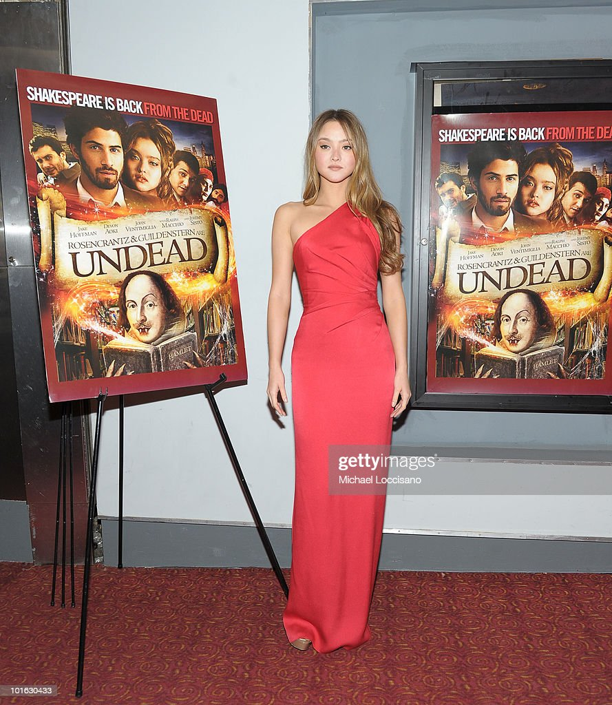 Actress Devon Aoki attends the premiere of 'Rosencrantz and Guildenstern Are Undead' at Village East Cinema on June 4, 2010 in New York City.