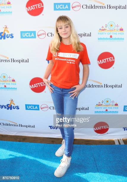 Actress DeVore Ledridge attends the 18th annual Mattel Party On The Pier at Pacific Parkâ Santa Monica Pier on November 5 2017 in Santa Monica...