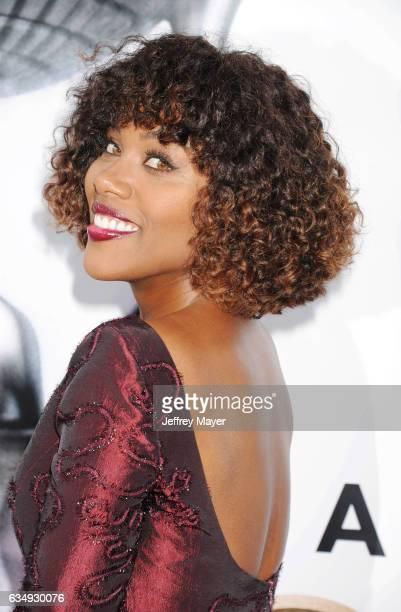 Actress DeWanda Wise arrives at the 48th NAACP Image Awards at Pasadena Civic Auditorium on February 11 2017 in Pasadena California