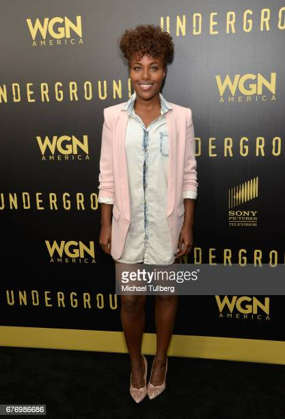 """Actress DeWanda Wise attends a For Your Consideration event for WGN America's """"Underground"""" at The Landmark on May 2, 2017 in Los Angeles, California."""