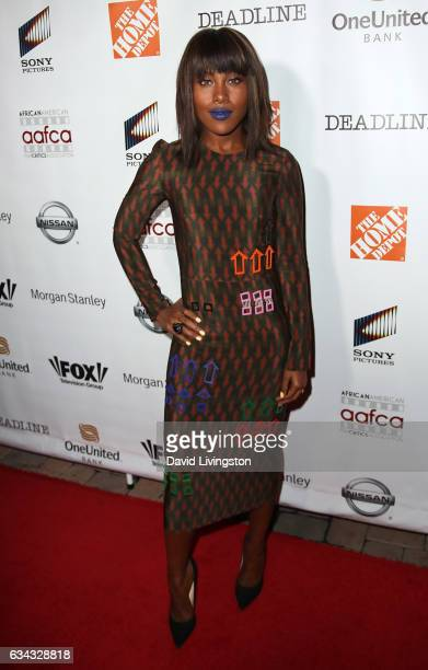 Actress DeWanda Wise attends the 8th Annual AAFCA Awards at Taglyan Complex on February 8 2017 in Los Angeles California