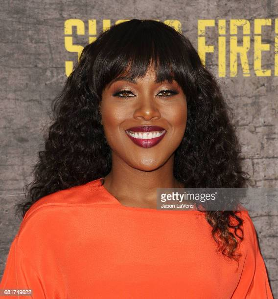 Actress DeWanda Wise attends the Shots Fired FYC event at Saban Media Center on May 10 2017 in North Hollywood California