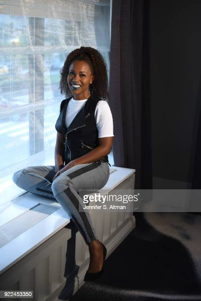 Actress DeWanda Wise is photographed for Los Angeles Times on November 10 2017 in New York City
