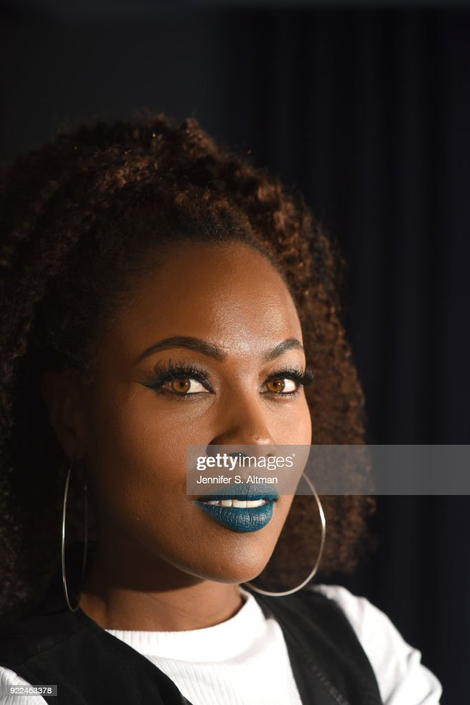 Actress DeWanda Wise is photographed for Los Angeles Times on November 10, 2017 in New York City.
