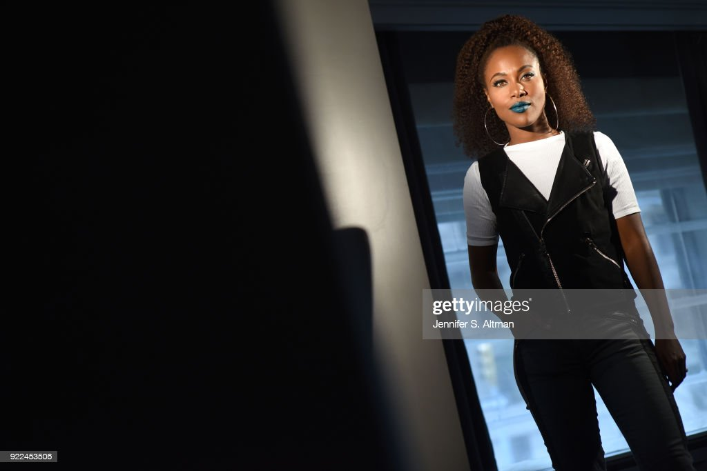 Actress DeWanda Wise is photographed for Los Angeles Times on November 10, 2017 in New York City. PUBLISHED