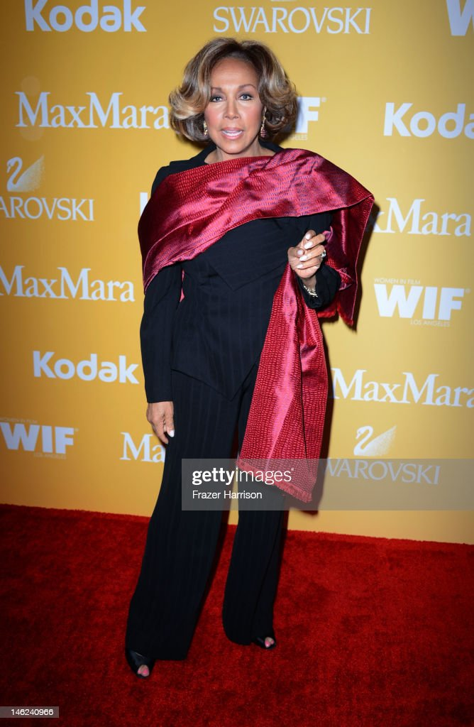 Actress Diahann Carroll arrives at the 2012 Women In Film Crystal + Lucy Awards at The Beverly Hilton Hotel on June 12, 2012 in Beverly Hills, California.