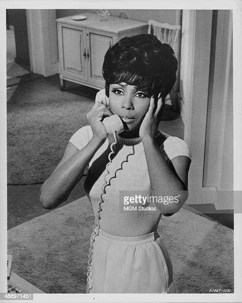 Actress Diahann Carroll in a scene from the movie 'The Split' for MGM Studios 1968