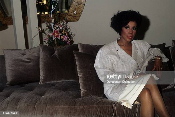Actress Diahann Carroll poses for a portrait in 1984 in Los Angeles California