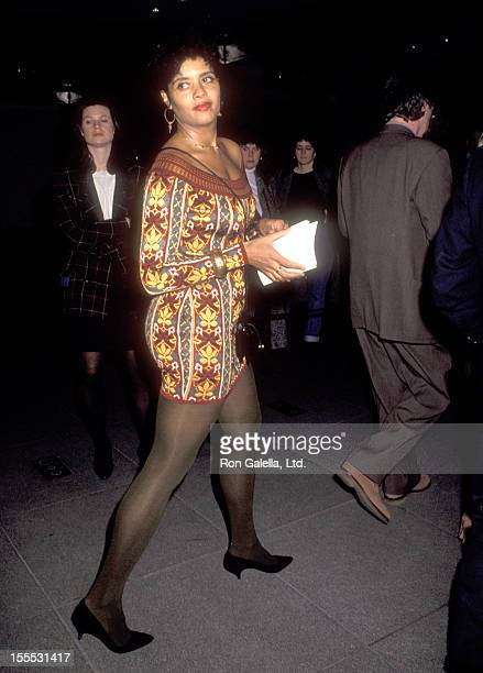 Actress Diahnne Abbott attends the Guilty by Suspicion New York City Premiere on March 11 1991 at The Museum of Modern Art in New York City