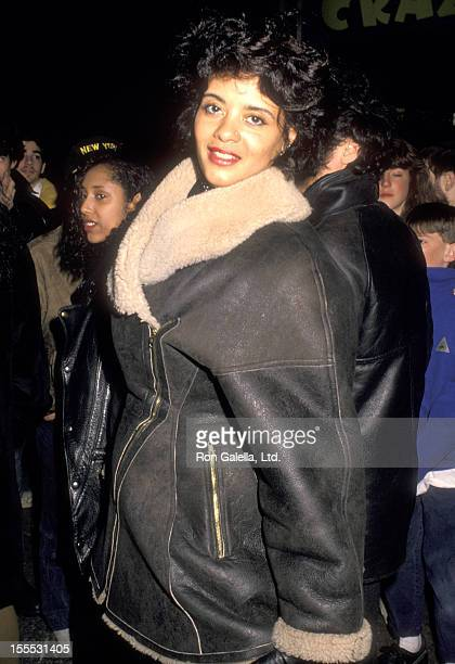Actress Diahnne Abbott attends the Jacknife New York City Premiere on February 25 1989 at Coronet Theater in New York City