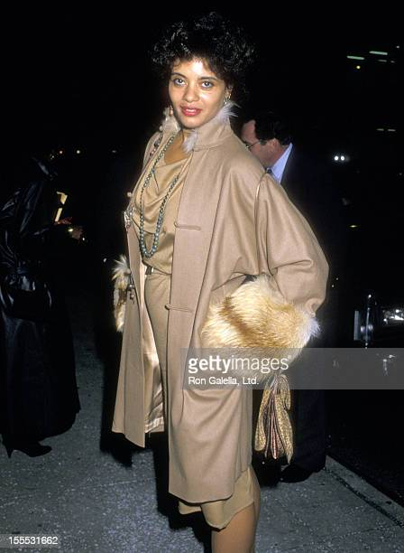 Actress Diahnne Abbott attends The Last Emperor New York City Premiere Party on November 18 1987 at The Museum of Modern Art in New York City