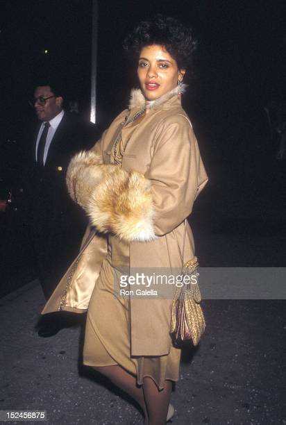 Actress Diahnne Abbott attends The Last Emperor Premiere Party on November 18 1987 at the Museum of Modern Art in New York City