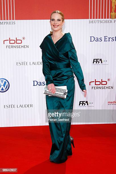 Actress Diana Amft attends the German film award at Friedrichstadtpalast on April 23 2010 in Berlin Germany