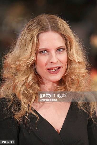 Actress Diana Ampft attends 'The Ghost Writer' Premiere during day two of the 60th Berlin International Film Festival at the Berlinale Palast on...
