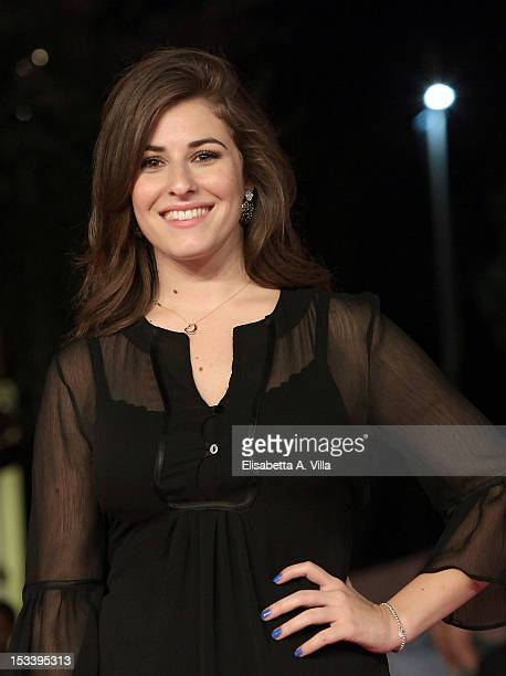 Actress Diana Del Bufalo attends 'Youtuber$' premiere during the 2012 RomaFictionFest at Auditorium Parco della Musica on October 4 2012 in Rome Italy