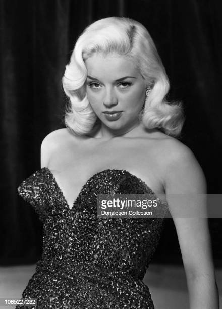 """Actress Diana Dors in a scene from the movie """"An Alligator Named Daisy"""""""