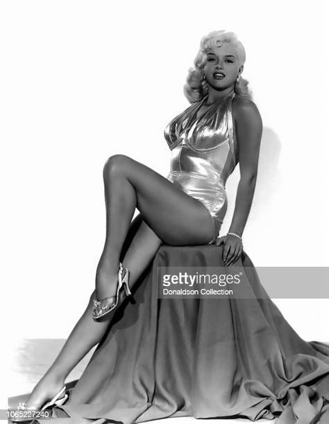 """Actress Diana Dors in a scene from the movie """"The Lady and the Prowler"""""""