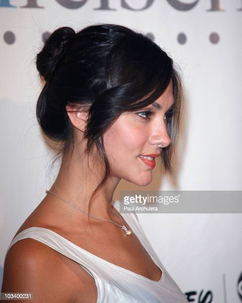 Actress Diana Garcia arrives at the 25th annual Imagen Awards luncheon ceremony at The Beverly Hilton hotel on August 15 2010 in Beverly Hills...