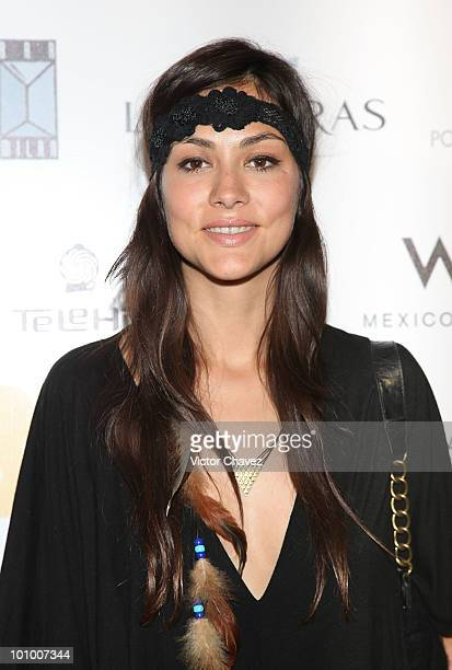 Actress Diana Garcia attends the Abel Mexico City Premiere at Cinemark Reforma 222 on May 25 2010 in Mexico City Mexico