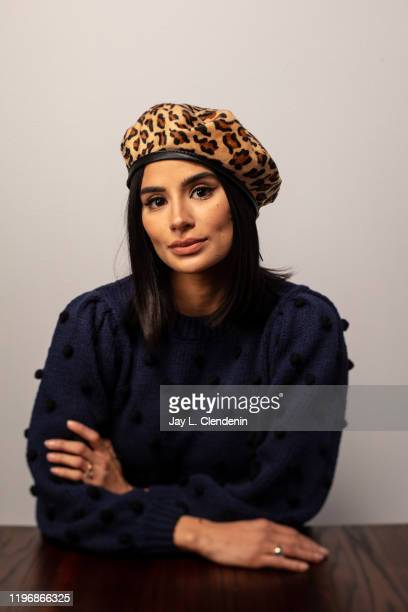 Actress Diana Guerrero from 'Blast Beat' is photographed in the LA Times Studio at the Sundance Film Festival on January 26 2020 in Park City Utah...