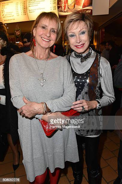 Actress Diana Koerner and AntjeKatrin Kuehnemann during the premiere of the Circus Krone program 'Circus der Preistraeger' at Circus Krone on...