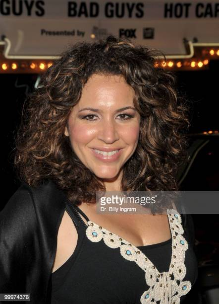 """Actress Diana Maria Riva attends """"The Good Guys, Bad Guys, Hot Cars"""" Exhibition opening reception at Petersen Automotive Museum on May 18, 2010 in..."""