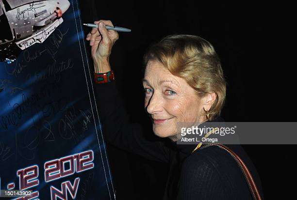 Actress Diana Muldaur participates in the 11th Annual Official Star Trek Convention at the Rio Hotel Casino Day 2 on Friday August 10 2012 in Las...