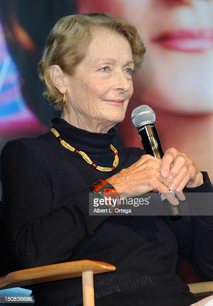 Actress Diana Muldaur participates in the 11th Annual Official Star Trek Convention day 2 held at the Rio Hotel Casino on August 10 2012 in Las Vegas...