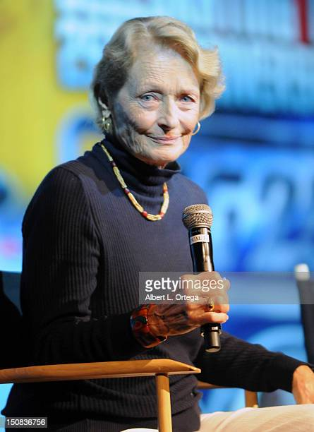 Actress Diana Muldaur participates in the 11th Annual Official Star Trek Convention day 2 held at the Rio Suites and Hotel on August 10 2012 in Las...