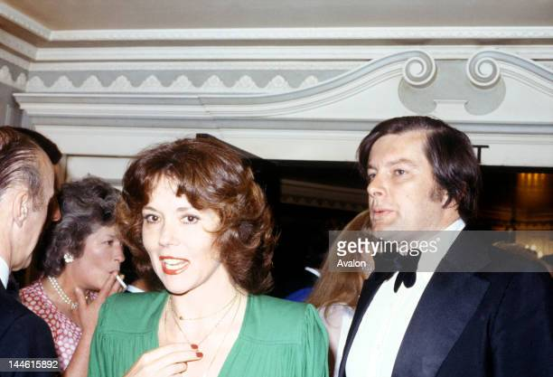 Actress Diana Rigg with impressario Archie Stirling photographed in August 1979