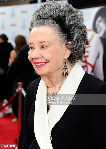 Actress Diana Serra Cary arrives at the TCM Classic Film Festival opening night premiere of the 40th anniversary restoration of Cabaret at Grauman's...