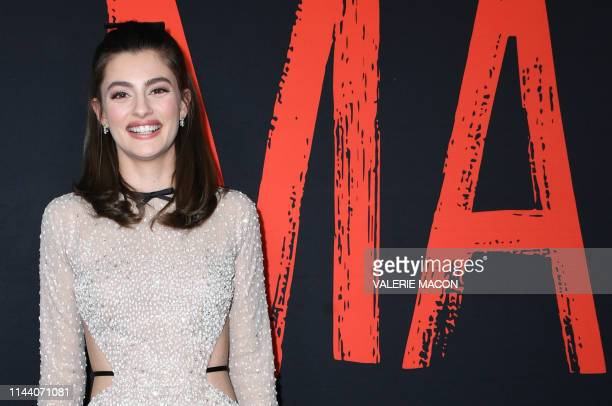US actress Diana Silvers arrives for Universal Pictures' special screening of Ma at the Regal Cinemas LA Live on May 16 2019 in Los Angeles