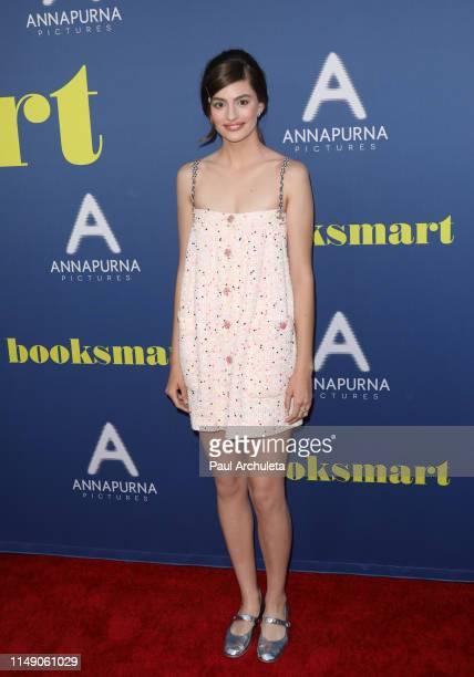Actress Diana Silvers attends the LA special screening of Booksmart at Ace Hotel on May 13 2019 in Los Angeles California