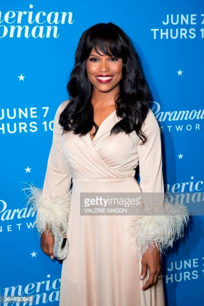 Actress Diandra Lyle attends 'American Woman' Premiere Party at Chateau Marmont on May 31 in Los Angeles California