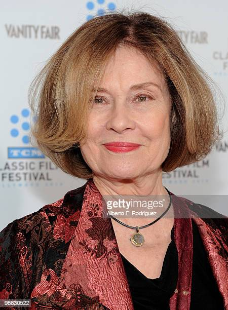 Actress Diane Baker arrives at the TCM Classic Film Festival's gala opening night world premiere of the newly restored film A Star Is Born at...