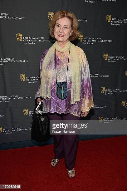 Actress Diane Baker attends the 10th annual BAFTA LA Student Film Awards at Los Angeles Film School on June 20 2013 in Los Angeles California