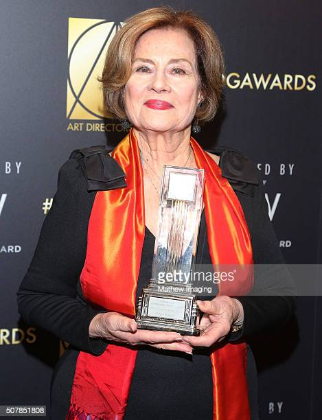 Actress Diane Baker attends the 20th Annual Art Directors Guild Excellence In Production Design Awards at The Beverly Hilton Hotel on January 31 2016...
