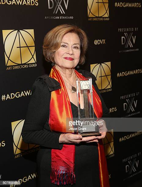 Actress Diane Baker attends the Art Directors Guild 20th Annual Excellence In Production Awards at The Beverly Hilton Hotel on January 31 2016 in...